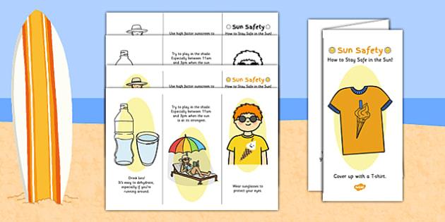 Sun Safety Leaflet - sun safety leaflet, sun, safety, leaflet