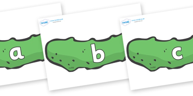 Phase 2 Phonemes on Pickles to Support Teaching on The Very Hungry Caterpillar - Phonemes, phoneme, Phase 2, Phase two, Foundation, Literacy, Letters and Sounds, DfES, display