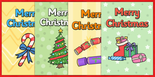 Christmas Card Templates - Christmas, Xmas, Happy Christmas