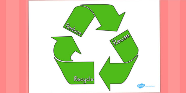 Eco And Recycling Reduce Reuse Recyle Poster - posters, displays