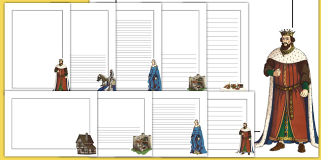 Middle Ages Page Borders - middle ages, medieval, page borders, page, borders