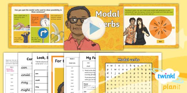 PlanIt Y5 Term 1B W3: Modal Verbs Spelling Pack