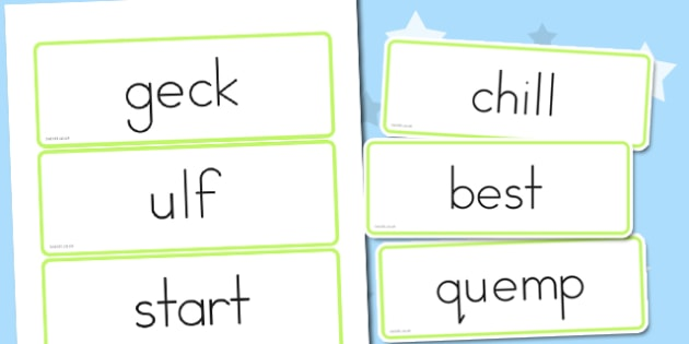 Foundation Nonsense Sorting Word Cards - australia, foundation