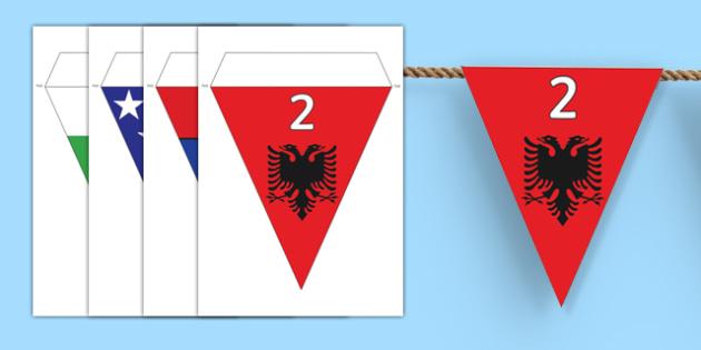 European Day of Languages Display Bunting