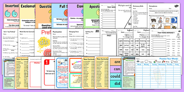 KS3 Literacy Spelling and Grammar Catch Up Resource Pack - ks3
