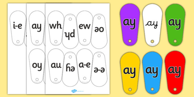 Phase 5 Phoneme Fans - Phoneme fans, Letters and Sounds, Phase 5, Phase five, Foundation, Literacy, Alphabet  Fans, A-Z letters, Alphabet flashcards, letters and sounds, DfES, KS1