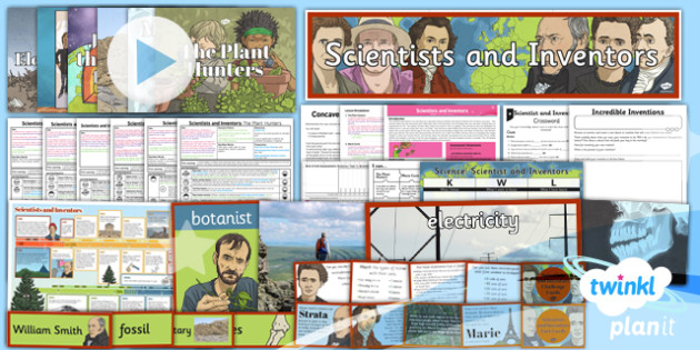 Science: Scientists and Inventors Year 3 Unit Pack