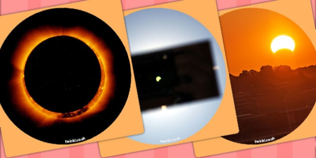 Solar Eclipse Display Photo Cut Outs - solar eclipse, sun, cutout