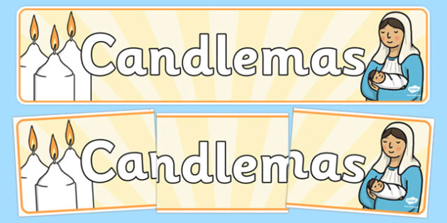 Candlemas Display Banner - candlemas, display banner, display, banner, christianity, religion