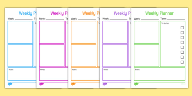 Weekly Teacher Planner-weekly planner, planner, teachers planner, planning, organisation, to do list, check list, list, planning tasks, lesson plan