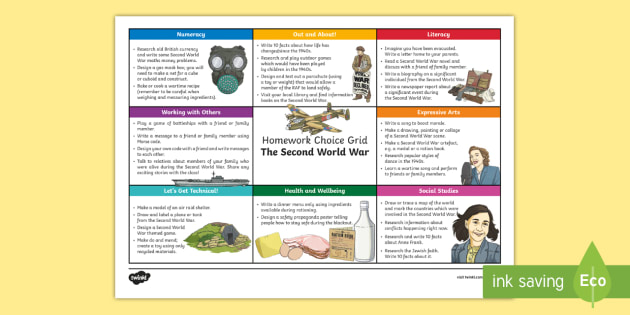 Homework help on world war 2