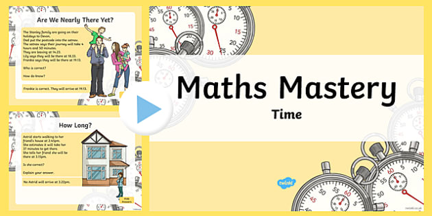 Maths Mastery Activities Year 3 Time PowerPoint