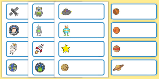 Editable Drawer - Peg - Name Labels (Space) - Spaced themed Label Templates, Space, Resource Labels, Name Labels, Editable Labels, Drawer Labels, Coat Peg Labels, Peg Label, KS1 Labels, Foundation Labels, Foundation Stage Labels, Teaching Labels, Res