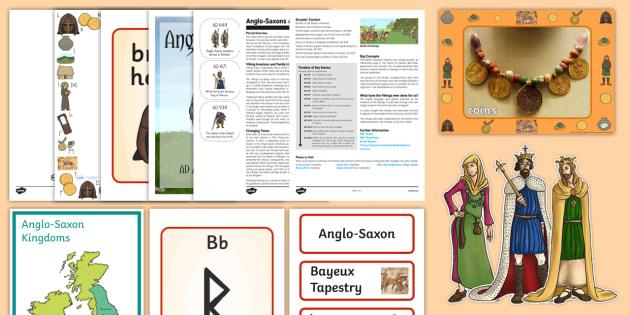 The Anglo-Saxons Resource Pack-Australia - History Club, Australia
