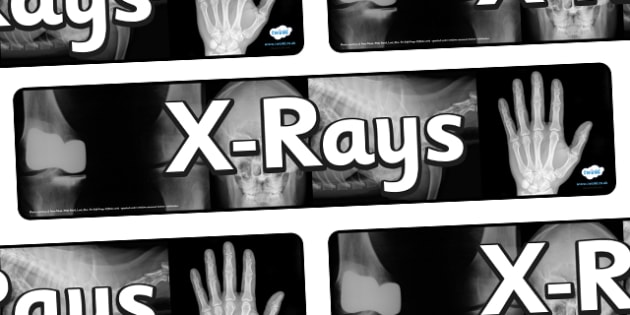 X Ray Display Banner - X ray display banner, x ray, rays, display, banner, sign, poster, hospital