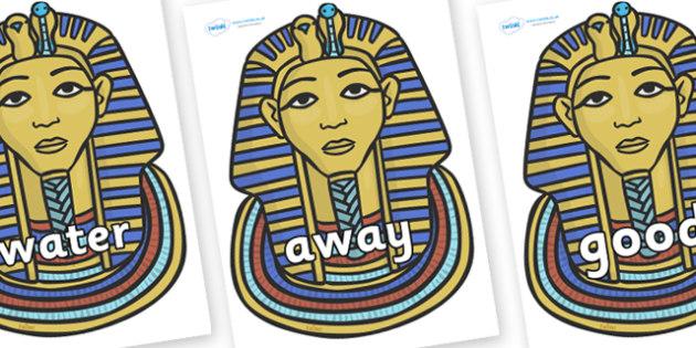Next 200 Common Words on Tutankhamun - Next 200 Common Words on  - DfES Letters and Sounds, Letters and Sounds, Letters and sounds words, Common words, 200 common words
