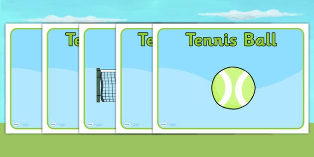 Wimbledon Group Signs - sports, tennis, pe, label, sport, display