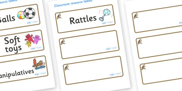 Osprey Themed Editable Additional Resource Labels - Themed Label template, Resource Label, Name Labels, Editable Labels, Drawer Labels, KS1 Labels, Foundation Labels, Foundation Stage Labels, Teaching Labels, Resource Labels, Tray Labels, Printable l