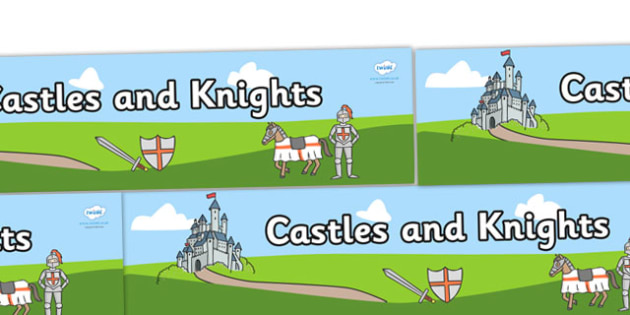 Small World Background (Castles & Knights) - Small World, castle, palace, backdrop, background, scenery, small world area, small world display, small world resources, knights