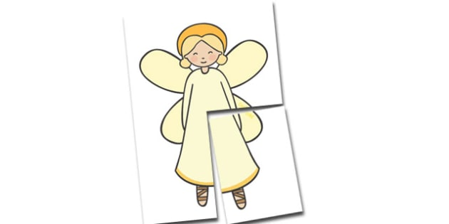 Extra Large Display Angel Cut-Out - Christmas, xmas, angel, large display, display, tree, advent, nativity, santa, father christmas, Jesus, tree, stocking, present, activity, cracker, angel, snowman, advent , bauble