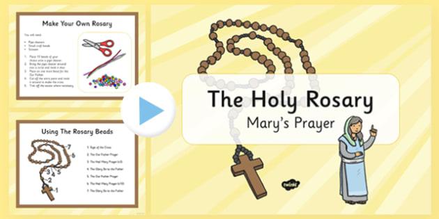 The Rosary Prayer - the rosary, prayer, pray, rosary, christianity, religion