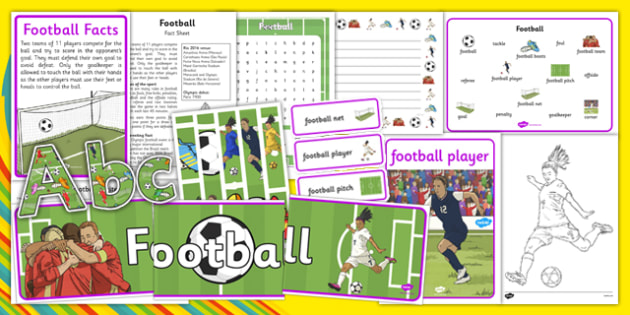 Rio 2016 Olympics Football Resource Pack - Football, Olympics, Olympic Games, sports, Olympic, London, 2012, resource pack, pack resources, activity, Olympic torch, events, flag, countries, medal, Olympic Rings, mascots, flame, compete
