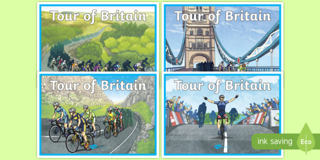 Tour of Britain Display Posters