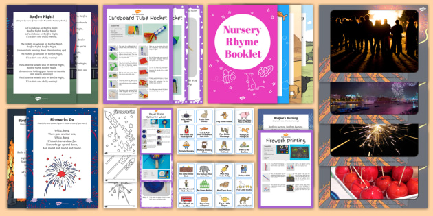 Bonfire Themed Intergenerational Toddler Singing Group Resource Pack - Intergenerational Ideas, bonfire, singing, ideas, support, activities, care givers, activity coordin