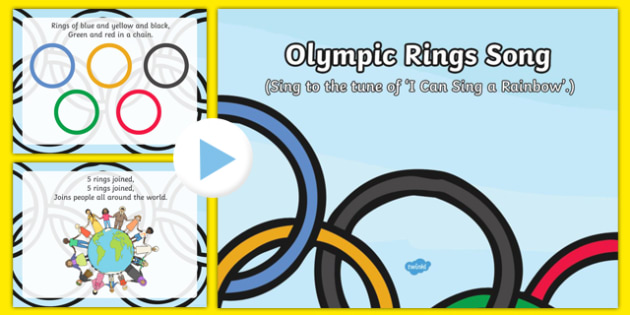 Olympic Rings Song PowerPoint