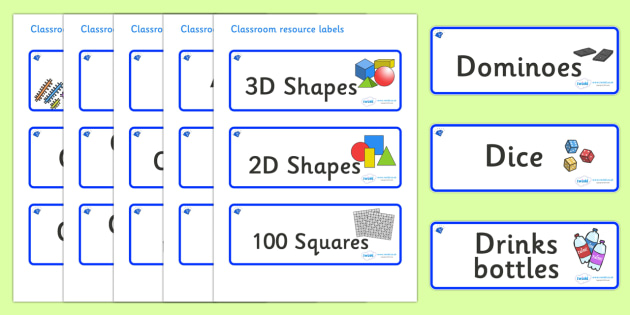 Sapphire Blue Themed Editable Classroom Resource Labels - Themed Label template, Resource Label, Name Labels, Editable Labels, Drawer Labels, KS1 Labels, Foundation Labels, Foundation Stage Labels, Teaching Labels, Resource Labels, Tray Labels, Print