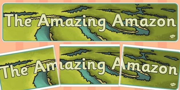 The Amazing Amazon Display Banner - amazing, amazon, display