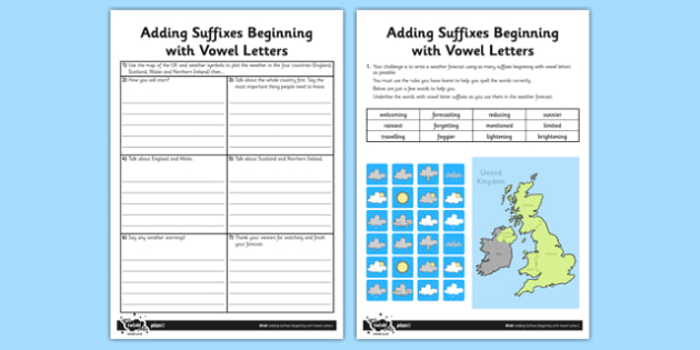 Adding Suffixes Beginning with Vowels Application Activity Sheet - GPS, grammar, spelling, punctuation, root word, worksheet