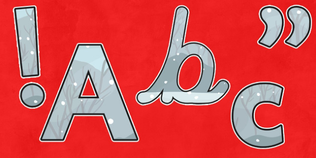 Display Lettering (Lowercase) to Support Teaching on The Snowman - A4 letters, display, lettering, letters, alphabet, A-Z, the snowman, snowman, the snowman letters, snowman themed display lettering, alphabet frieze, display letters, letter posters,