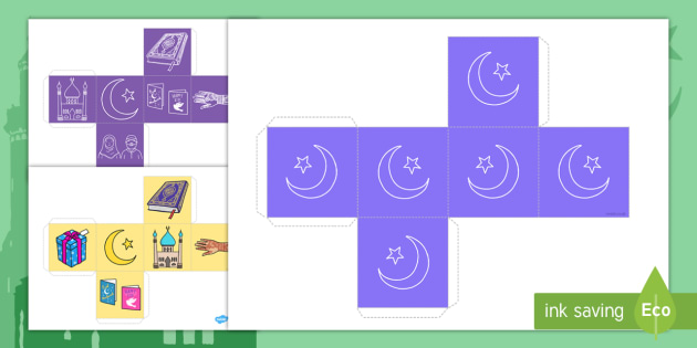 Eid Gift Box Net Templates - eid, gift box, net, templates, box