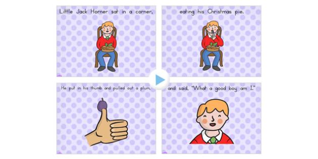 Little Jack Horner PowerPoint - Australia, Little, Jack, Horner
