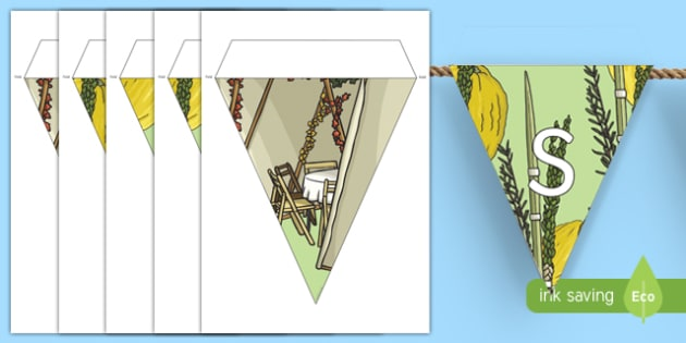 Sukkot Display Bunting