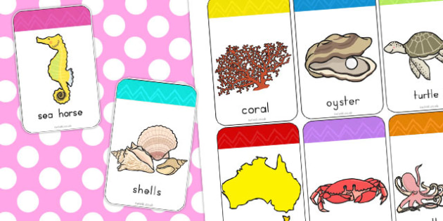 Great Barrier Reef Flashcards - australia, great, barrier, reef
