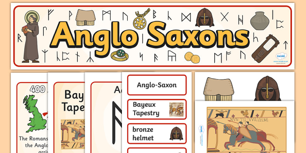 Anglo Saxons Display Pack - anglo saxons, display pack, display banner, display photos, display, resource pack, display lettering, classroom display