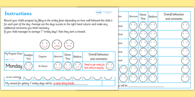Home Behaviour Progress Chart - home behaviour progress chart, progress, home, behaviour, charts, chart, award, well done, reward, medal, rewards, school, general, achievement