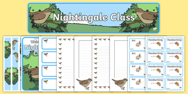 Nightingale Class Resource Pack - nightingale class, resource pack, nightingale, class