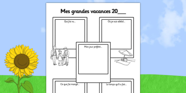 Mes grandes vacances 20_ - french, summer holiday, snapshots, sen