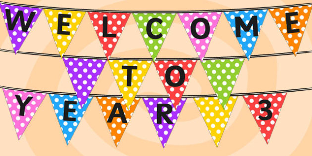 Image result for welcome to year 3