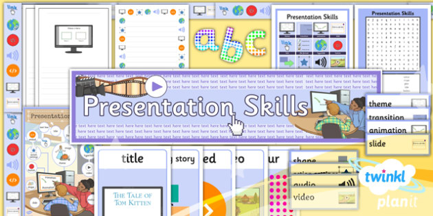 Computing: PowerPoint Presentation Skills Year 3 Unit Additional Resources