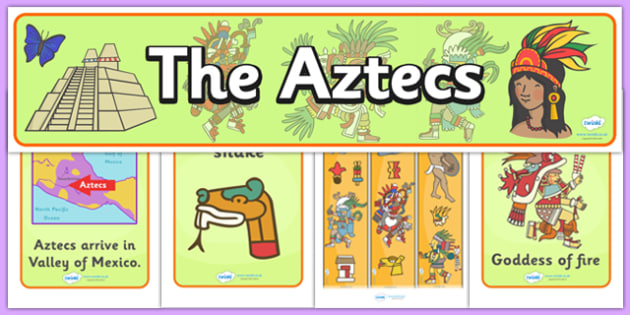 Aztec Display Pack - aztec, display pack, display banner, display photos, display, resource pack, display lettering, resources, classroom display