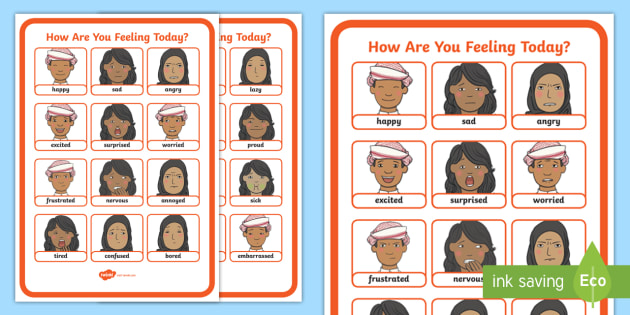 UAE - Topics - Feelings Display Poster - Feelings, emotions, poster, display, UAE, All About Me.