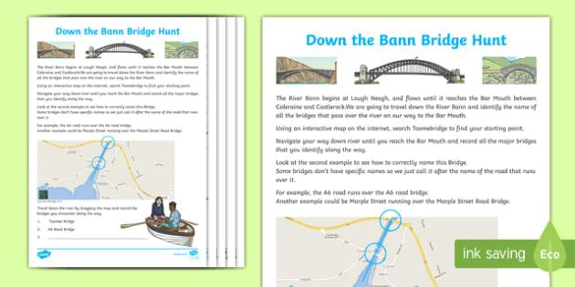 River Bann Bridge Hunt Activity