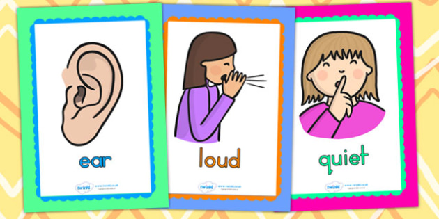 Sound And Hearing Display Posters - sound, hearing, noise, poster
