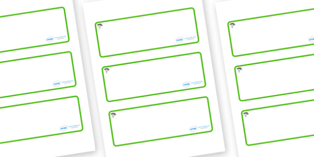Cypress Tree Themed Editable Drawer-Peg-Name Labels (Blank) - Themed Classroom Label Templates, Resource Labels, Name Labels, Editable Labels, Drawer Labels, Coat Peg Labels, Peg Label, KS1 Labels, Foundation Labels, Foundation Stage Labels, Teaching