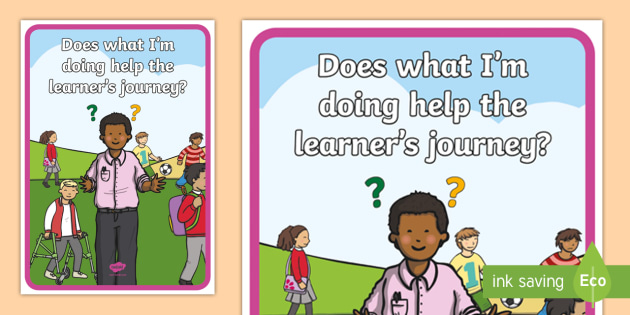 CfE Staff Helping the Learner's Journey A4 Display Poster - CfE Staff Information, benchmarks, learner's journey,Scottish