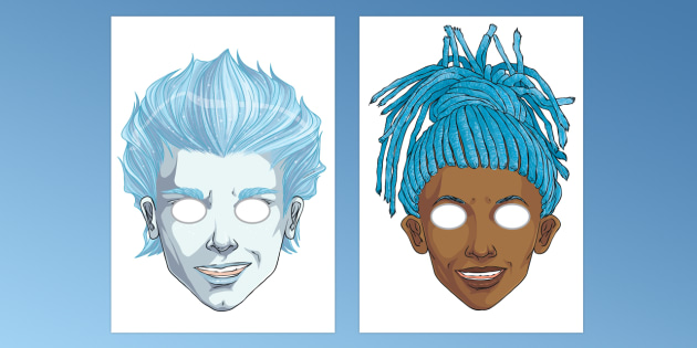 Anti-Bullying Week Superhero Role Play Masks